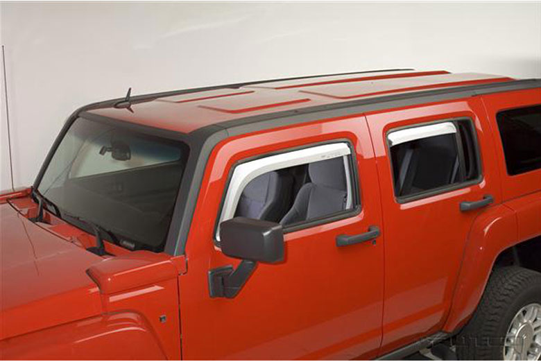 2008 Hummer H3 Element Window Visors
