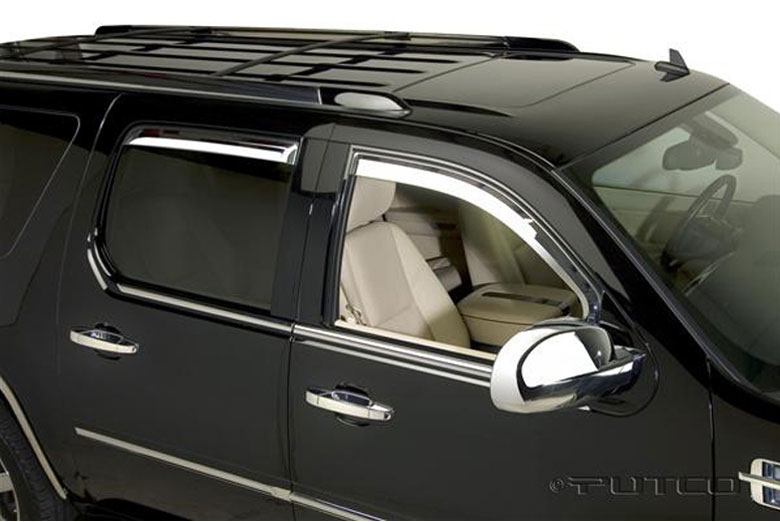2007 Cadillac Escalade Element Window Visors