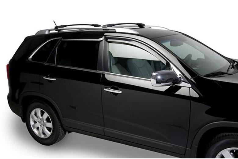 2011 Kia Sorento Element Tinted Window Visors