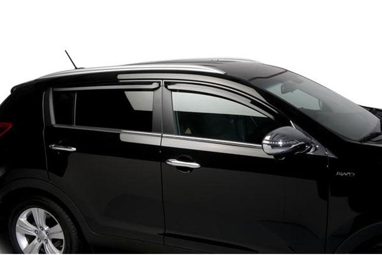 2013 Kia Sportage Element Tinted Window Visors