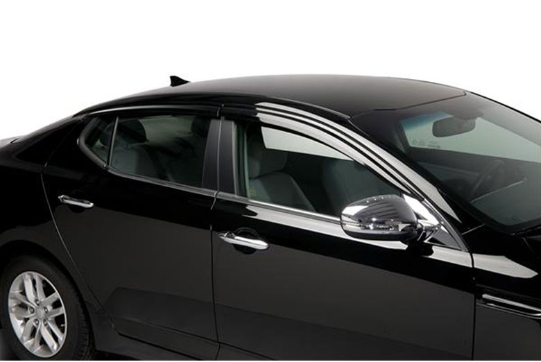 2011 Kia Optima Element Tinted Window Visors