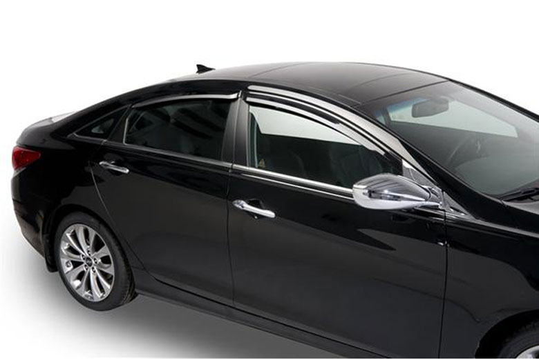 2013 Hyundai Sonata Element Tinted Window Visors
