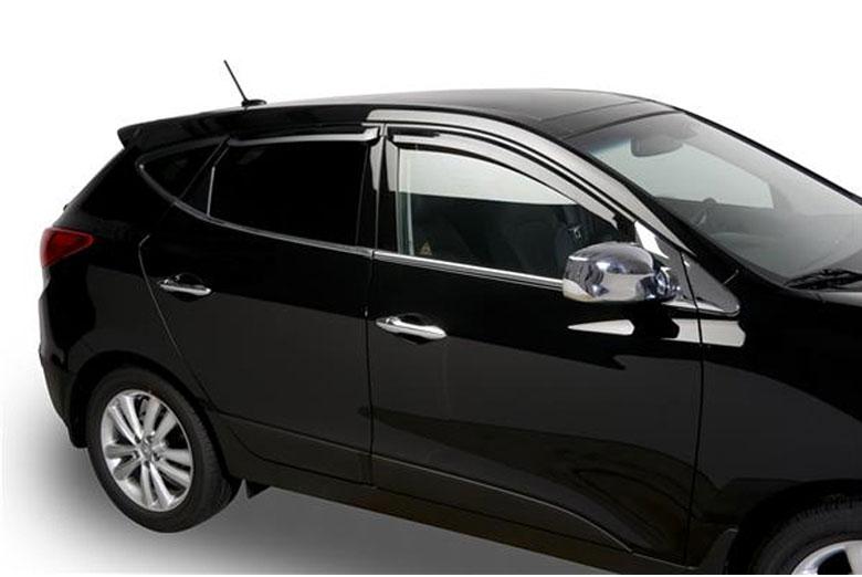 2012 Hyundai Tucson Element Tinted Window Visors