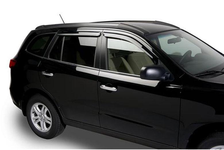 2008 Hyundai Santa Fe Element Tinted Window Visors