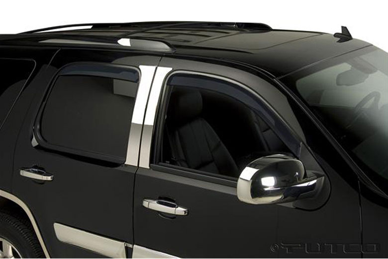 2007 Chevrolet Silverado Element Tinted Window Visors