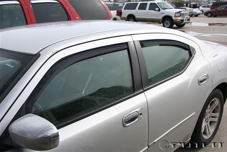 2007 Dodge Charger Element Tinted Window Visors