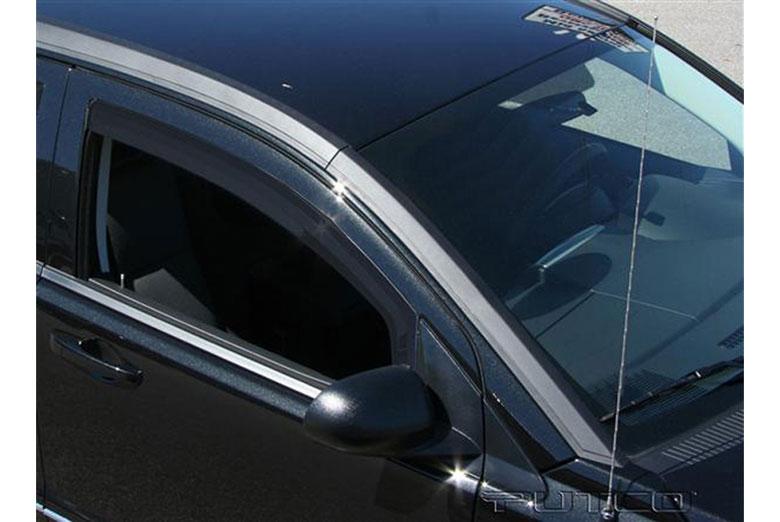 2007 Dodge Caliber Element Tinted Window Visors