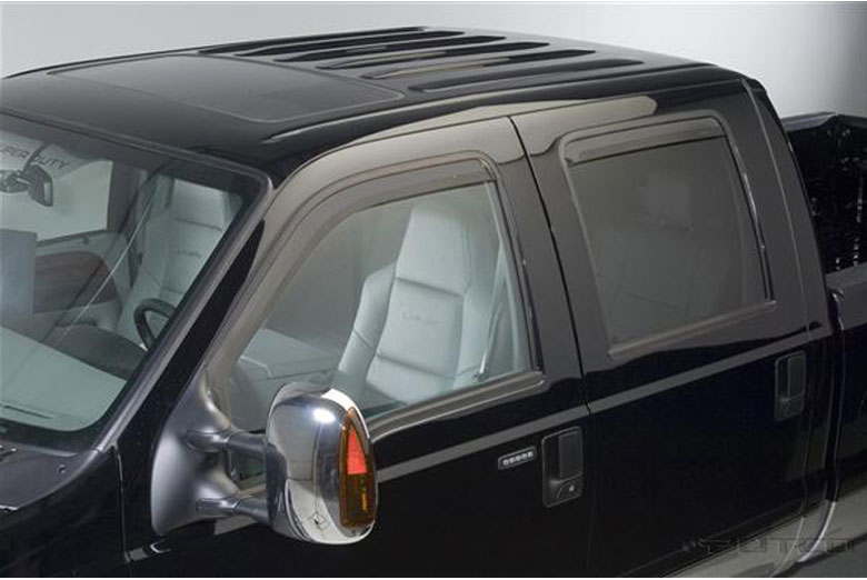 1999 Ford F-350 Element Tinted Window Visors