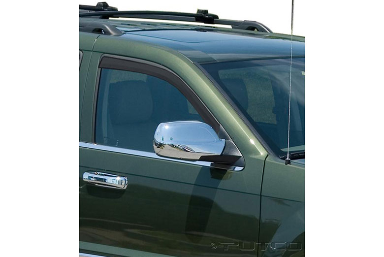 2007 Jeep Grand Cherokee Element Tinted Window Visors