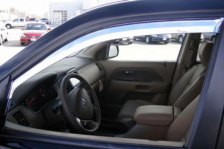 2003 Honda Pilot Element Tinted Window Visors