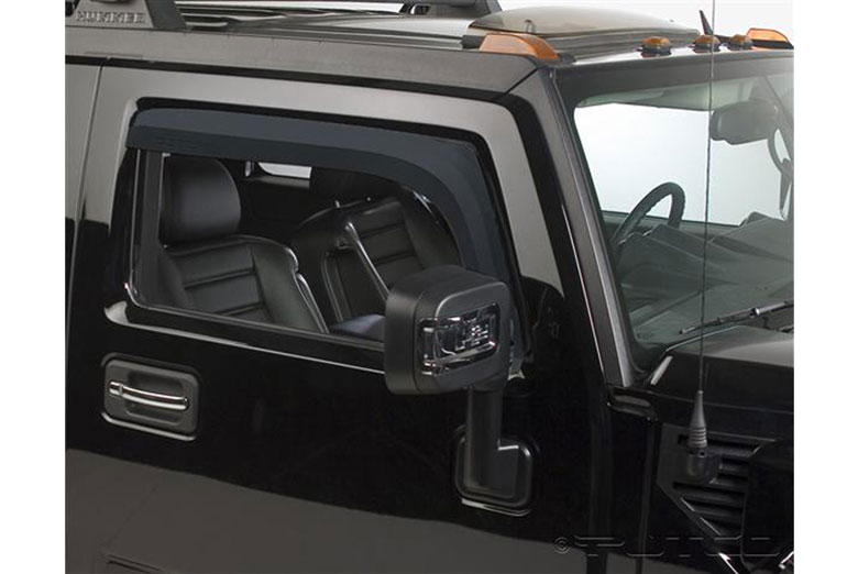 2006 Hummer H2 Element Tinted Window Visors