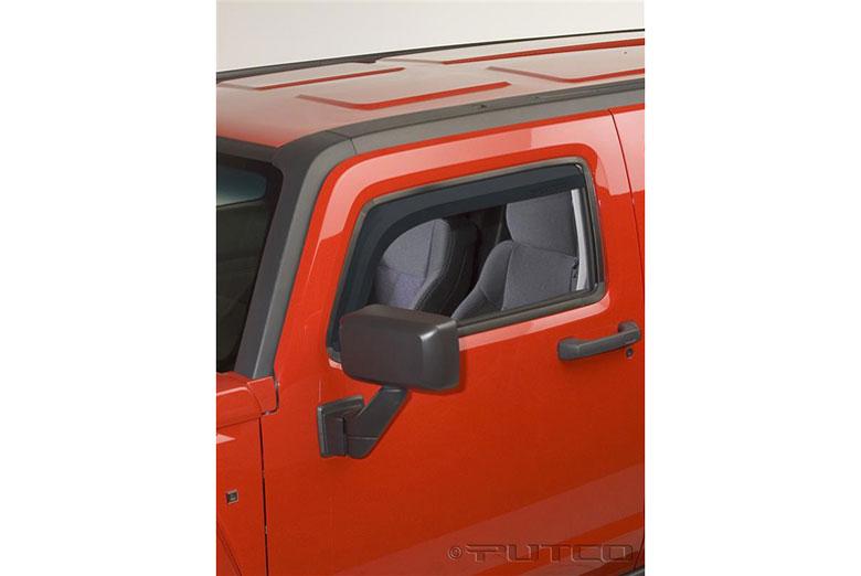 2005 Hummer H3 Element Tinted Window Visors