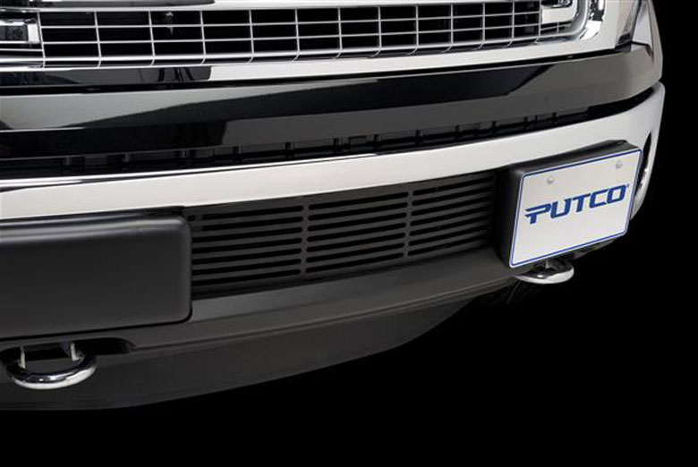 2014 Ford F-150 EcoBoost Bumper Black Bar Grille Inserts