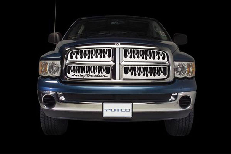 2004 Ford Ranger Flaming Inferno Honeycomb Grille