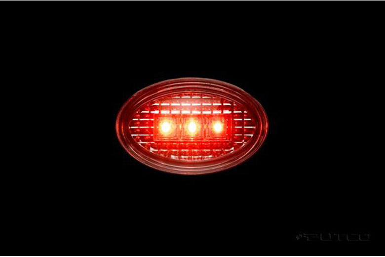 2008 Ford F-350 LED Fender Marker Lights