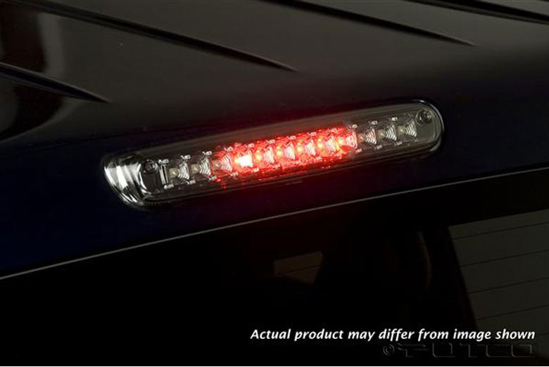 2009 Chevrolet Silverado LED Clear Third Brake Lights