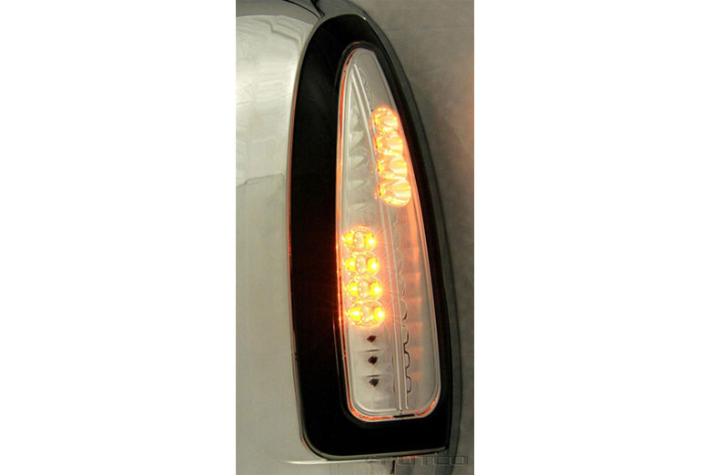 2007 Ford F-350 LED Clear Third Brake Lights