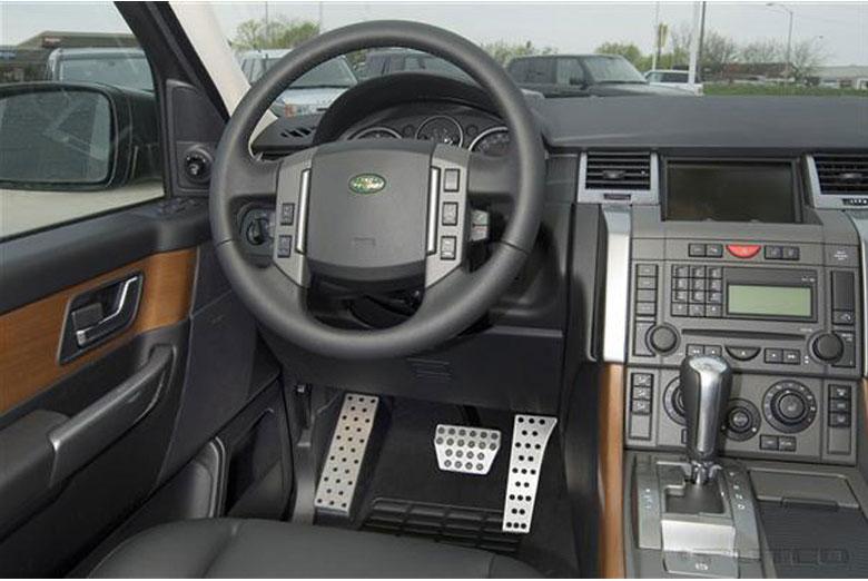 2003 Land Rover Range Rover Liquid Track Pedals