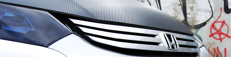 Honda Blackout Headlight Covers