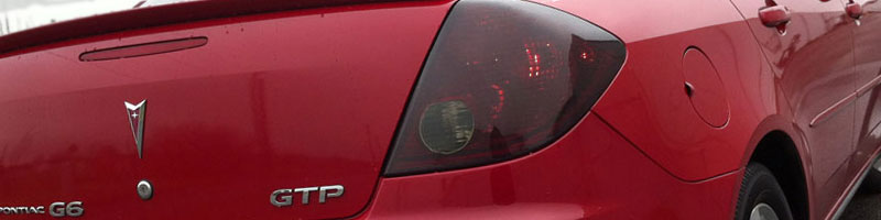 Pontaic G6 Tail Light Tint Film