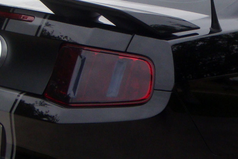 2012 Hyundai Elantra Custom Tail Light Tint Covers