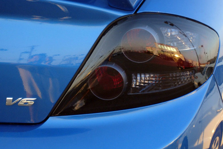 2012 Ford Focus Custom Tail Light Tints