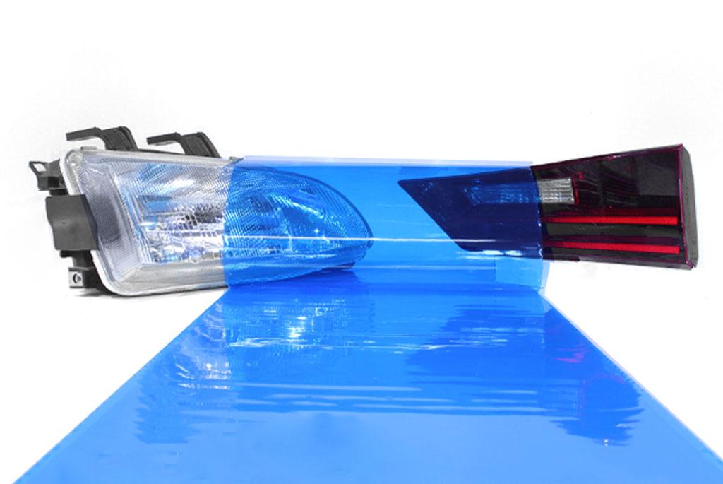 Rtint® Blue Smoke Tint Film Blue tint, Blue film, Blue vinyl, Blue wrap, Blue headlight, Blue tail light, Blue fog light