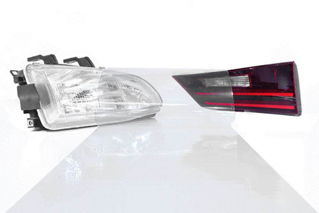Rtint® Clear Film Clear protective tint, Clear protection film, Clear protective vinyl, Clear wrap, Clear headlight, Clear tail light, Clear fog light