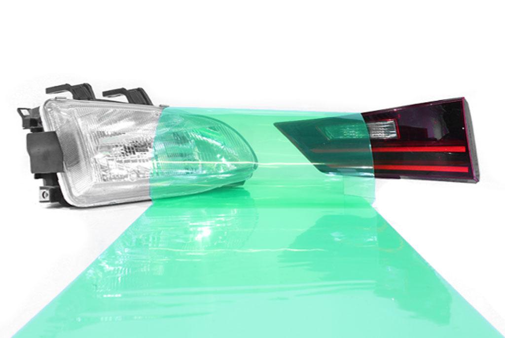 Rtint® Green Smoke Tint Film Green tint, Green film, Green vinyl, Green wrap, Green headlight, Green tail light, Green fog light