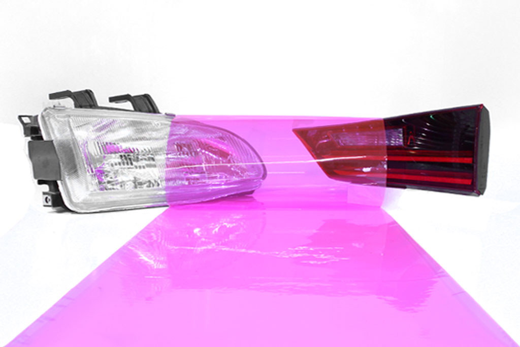 Rtint® Pink Smoke Tint Film Pink tint, Pink film, Pink vinyl, Pink wrap, Pink headlight, Pink tail light, Pink fog light