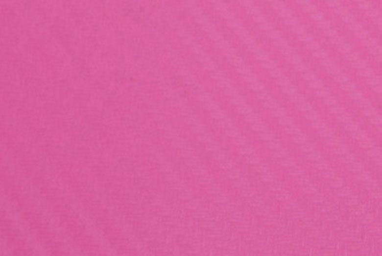 Carbon Fiber Vinyl Pink