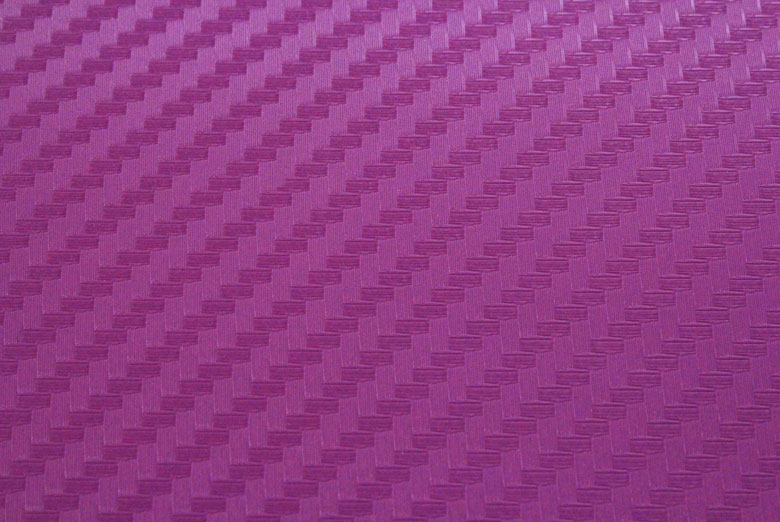 Carbon Fiber Vinyl Purple