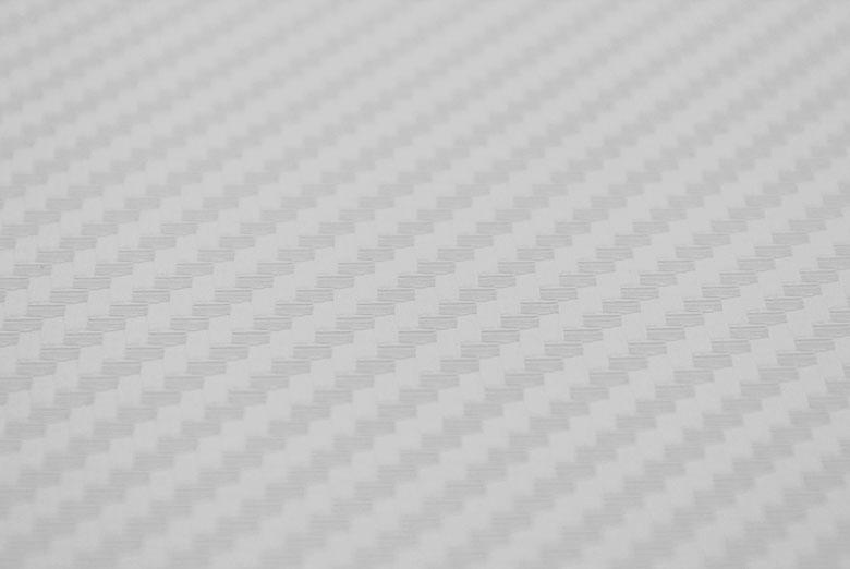 Carbon Fiber Vinyl White