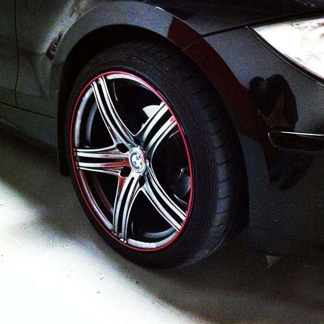 Wheel Bands Curb Rash Protection Kits