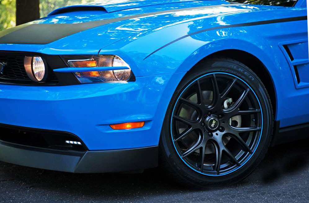 2012 Dodge Challenger Wheel Bands