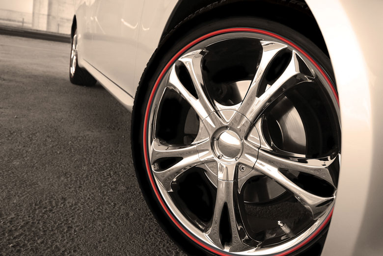 2009 Honda CR-V Wheel Bands Rim Protectors